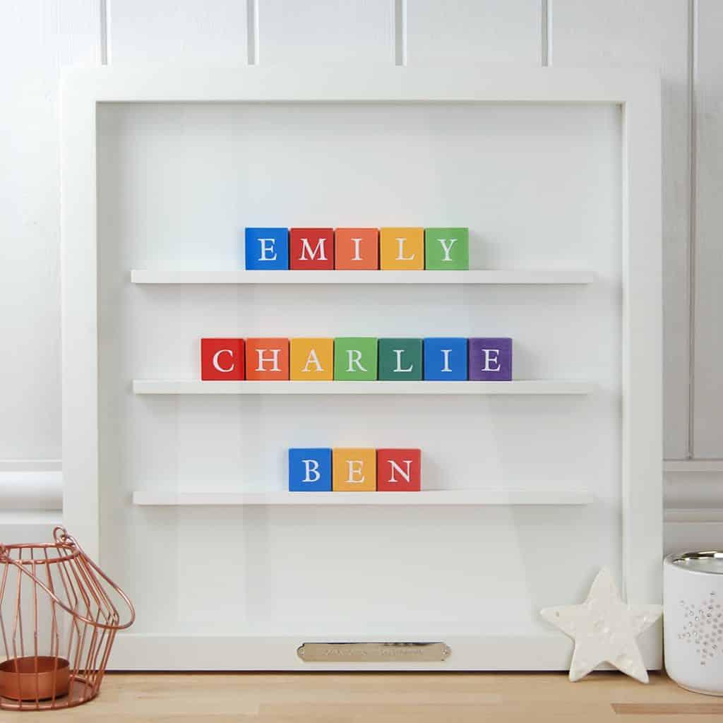 ABC Block Name Gift for Family