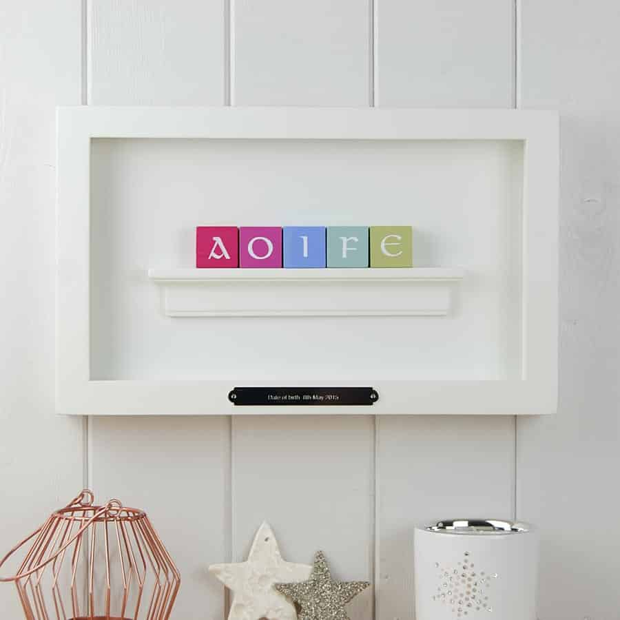 Makeitwithwords personalised prints gifts and accessories baby gifts negle