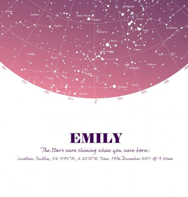 Birthday-Gift-Map-of-the-stars-print-pink-close-up