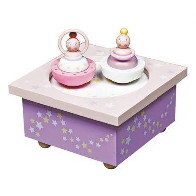 Christening gift Ballerina Music box