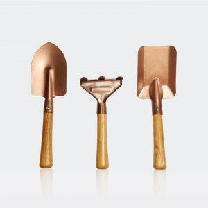 Copper Gardening tools