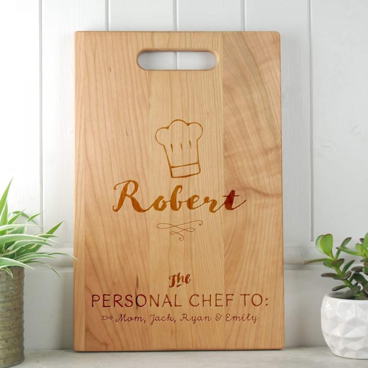 Fathers Day Gift Cherry Cutting Board