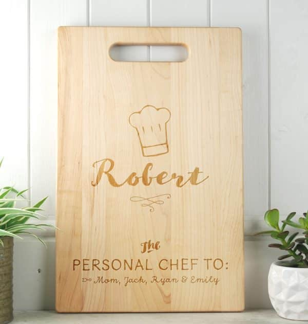 Gifts for Dads Maple Chopping Board