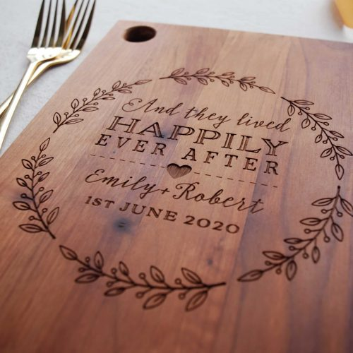 Personalised Wood Anniversary Gift