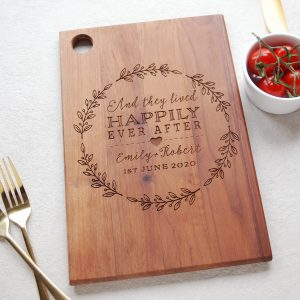 Wedding Anniversary Wooden Board Gift
