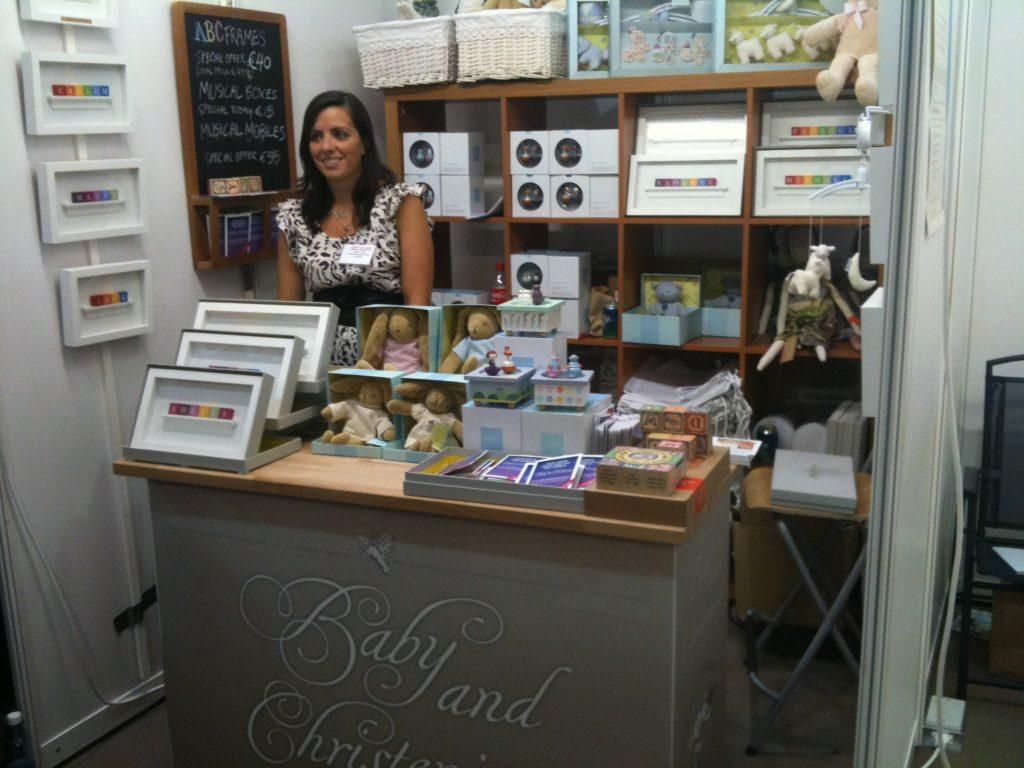 Amelia at the Baby Gift Show 2011