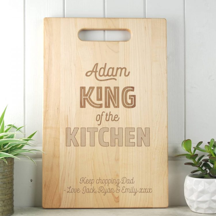 Fathers Day Gift Maple Chopping Board