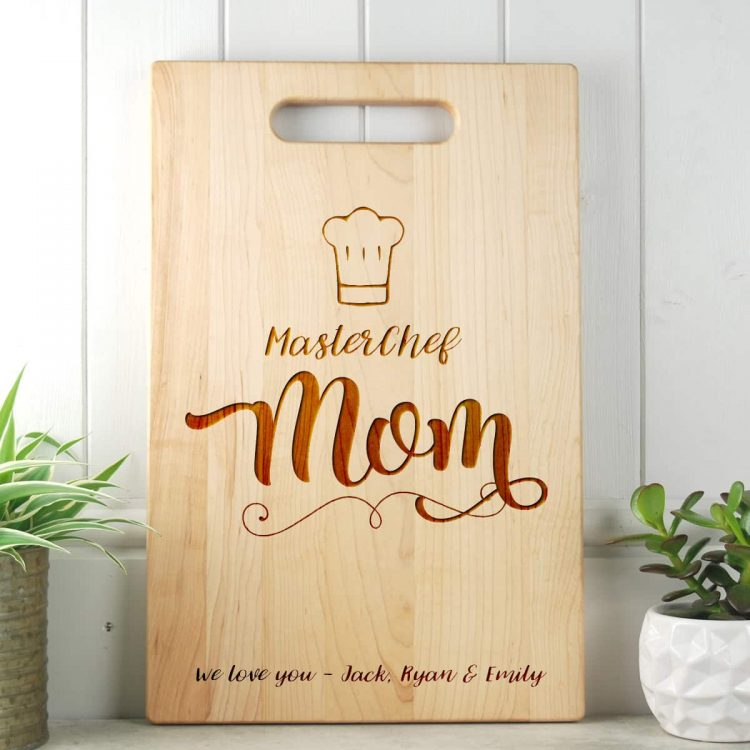 Masterchef Gift for Mother Cutting Board