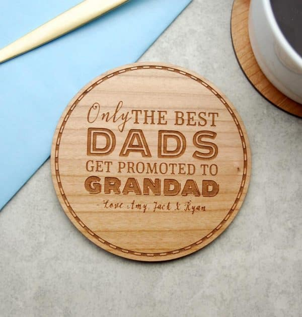 Only-The-Best-Dads-coaster-gift