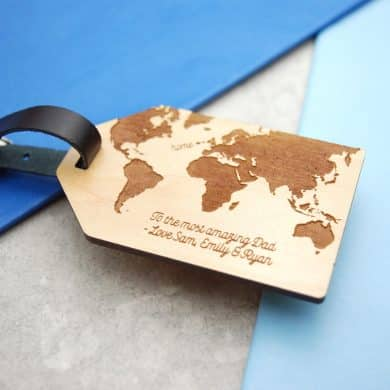 Adventurer Dad Luggage Gift Tag
