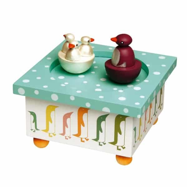 Penguins Music box Christening Gifts for boy