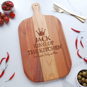 Personalised Wooden Cherry Gift for Him