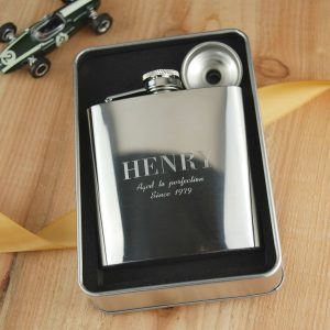Personalises Hip Flask