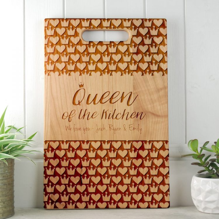 Gift for Mom Personalised Cutting Board