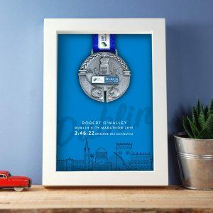 Marathon Medal Blue Gift
