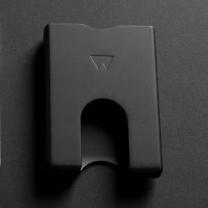 Black Metal Wallet