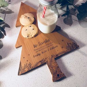 Personalised Santa Serving board Gift