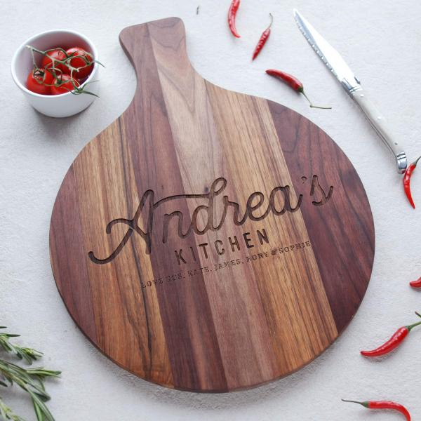 Personalised Wooden Chopping Board Gift