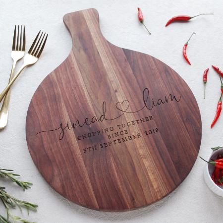 Personalised Wooden Anniversary Gift