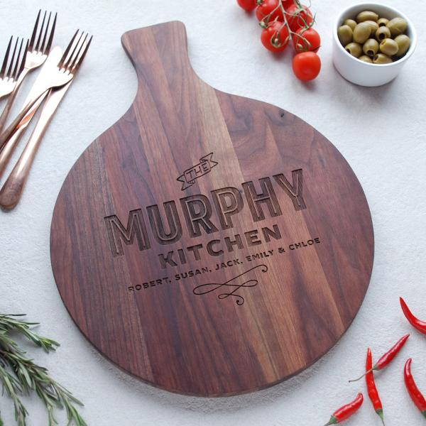 Personalised Wooden Family Gift