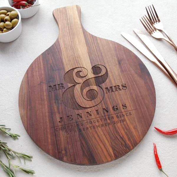 Personalised Wooden Wedding Gift