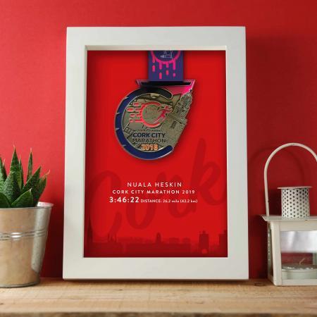 Cork Marathon Medal Frame