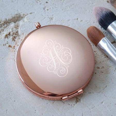 Rose gold Personlised Compact