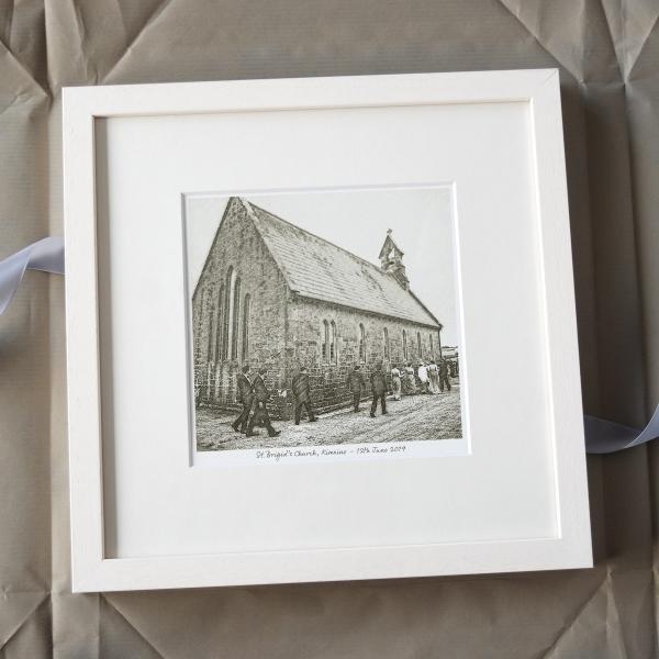 Church Pencil Drawing Sketch