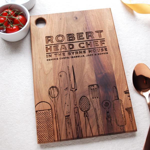 Head-Chef-Walnut-Chopping-Board