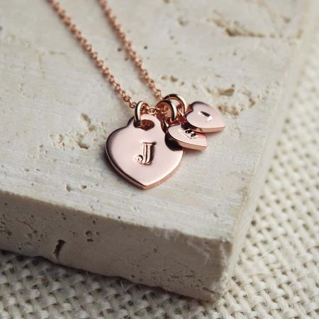 Rose-Gold-Hearts-Necklace